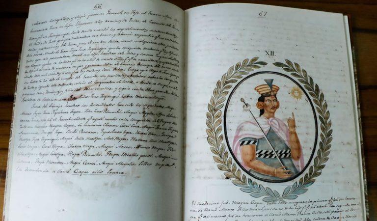 Recuperan manuscrito con los «secretos de los Incas» desaparecido hace más de un siglo