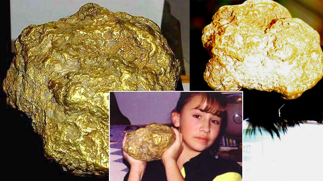 La pepita de oro más grande jamás hallada en Alaska