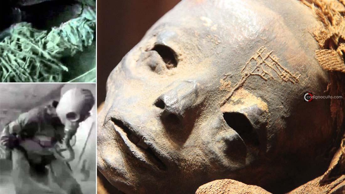 Momia extraterrestre en Egipto habría sido descubierta por la KGB: el Proyecto ISIS