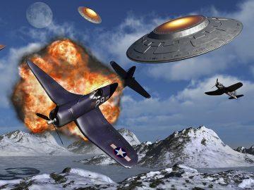 Pilotos rusos y chinos murieron persiguiendo OVNIs