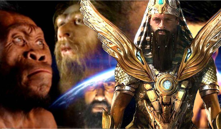 Dioses Anunnaki y las versiones del humano creadas y destruidas