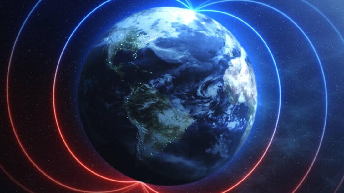 El campo magnético de la Tierra está comportándose muy extraño