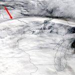 Un gigantesco «arco de nubes» de 1.500 km de ancho es detectado sobre EE.UU. en imágenes de NASA