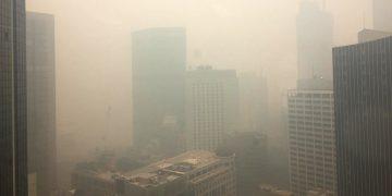 Capital de Australia es cubierta por una capa de gas tóxico y la calidad del aire se ubica a más de 12 veces el nivel peligroso