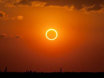 Este 26 de diciembre un eclipse anular formará un «anillo de fuego» en el cielo