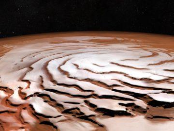Marte posee hielo a solo 2.5 centímetros de la superficie, detecta NASA