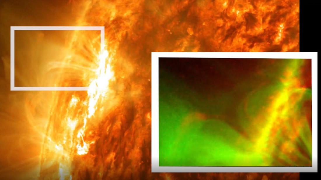 Explosión magnética nunca antes vista es detectada en el Sol