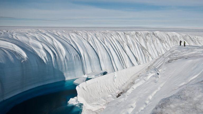 Un «Río Oscuro» de 1.600 kilómetros ha sido descubierto bajo Groenlandia