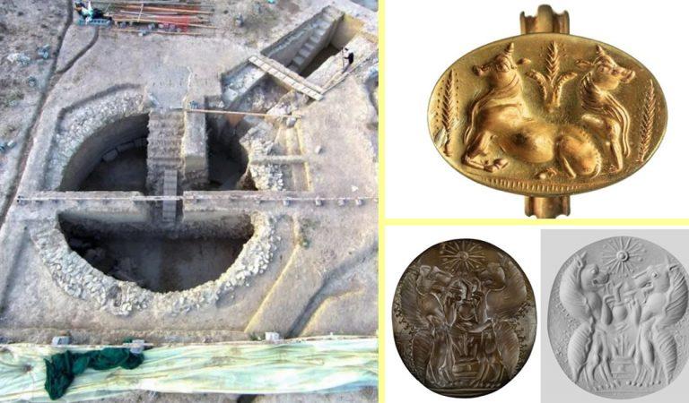 Tumbas griegas de 3.500 años que estuvieron recubiertas de oro son descubiertas