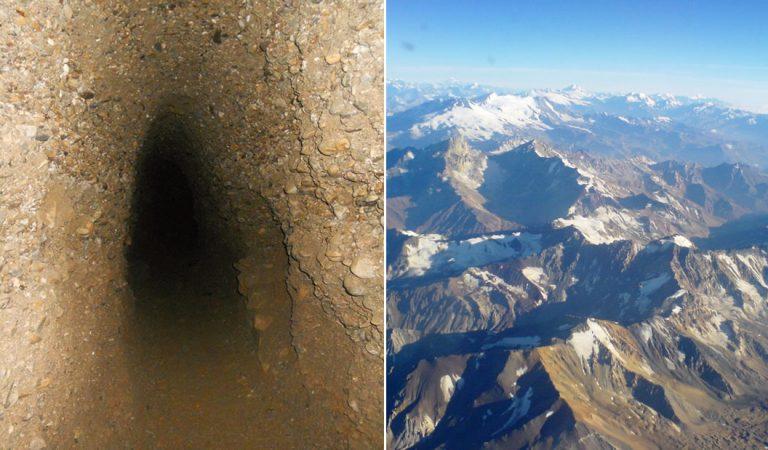 Túneles subterráneos que conectan el planeta entero: bajo los Andes, Pirámides de Giza y el océano