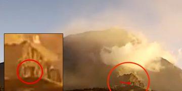 Popocatépetl: ¿se ha abierto una «puerta» en el volcán? ¿base alienígena subterránea?