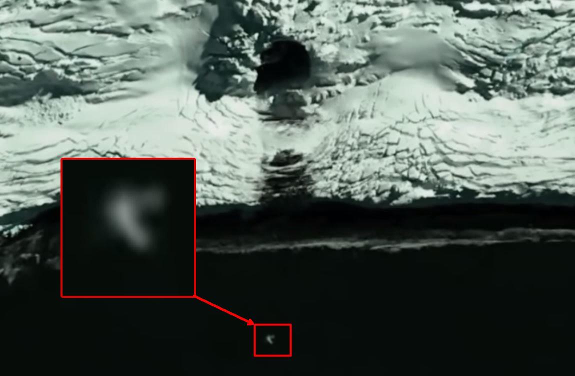 ¿Es esto un agujero en la Antártida? Mapas satelitales muestran un acceso antes «oculto»