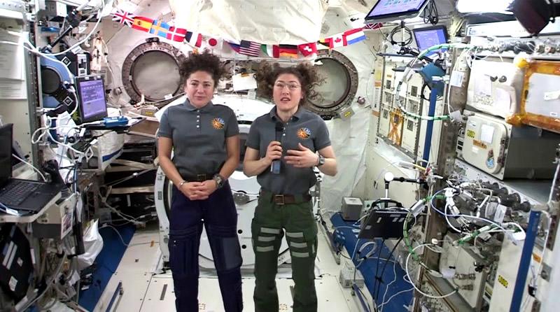 ¿Portal estelar se abrió fuera de la Estación Espacial Internacional?