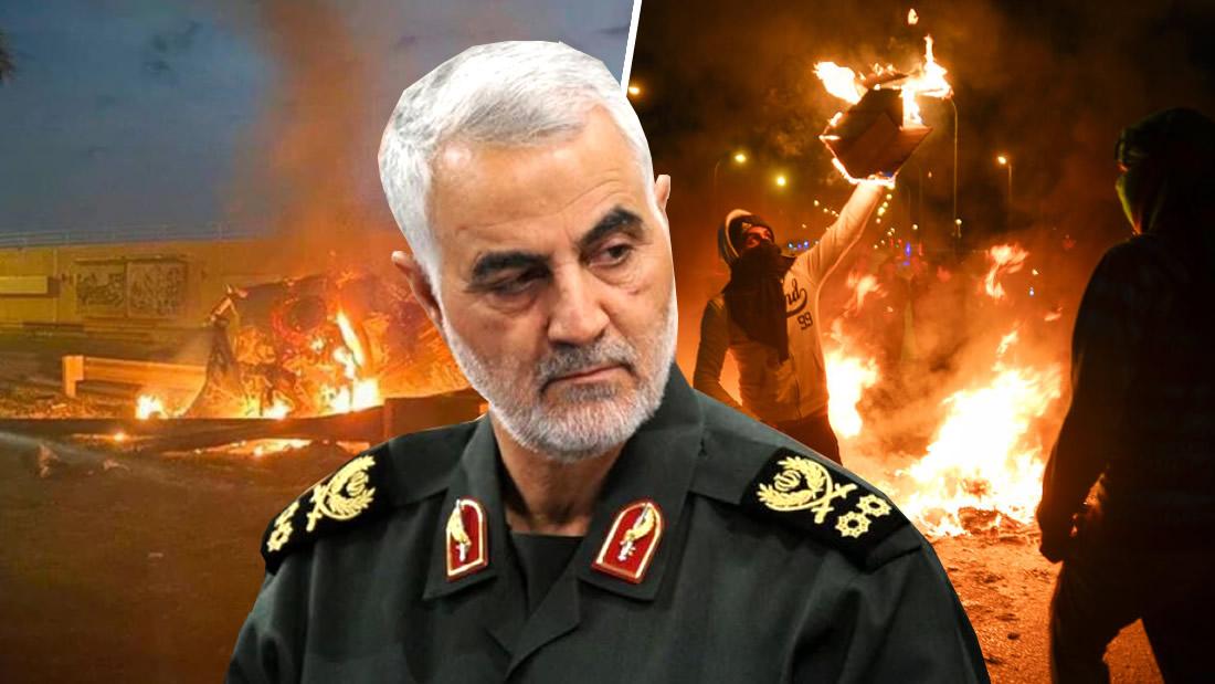 Misiles de EE.UU. matan al militar más poderoso de Irán y las amenazas de una Tercera Guerra Mundial inician
