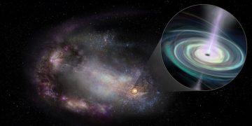 Hallan agujeros negros errantes en galaxias enanas a menos de mil millones de años luz