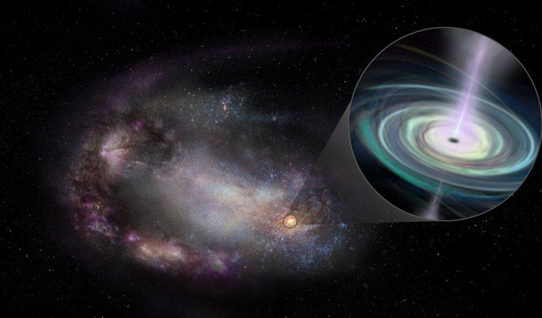 Hallan agujeros negros «errantes» en galaxias enanas a menos de mil millones de años luz