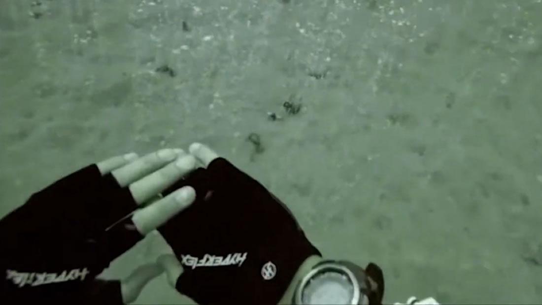 Buzos descubren un manantial «mágico» burbujeante bajo el océano (Vídeo)