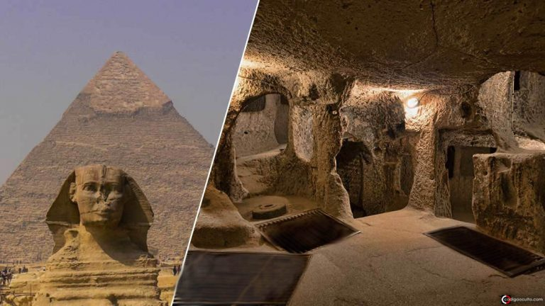 Civilización subterránea oculta en el Antiguo Egipto es revelada