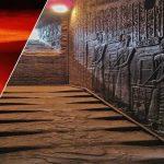 Escaleras «fundidas» del Templo Hathor en Egipto: ¿vestigios de una guerra nuclear antigua?