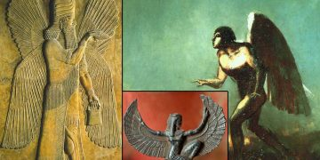 Hombres alados o «ángeles» en diferentes culturas antiguas y religiones