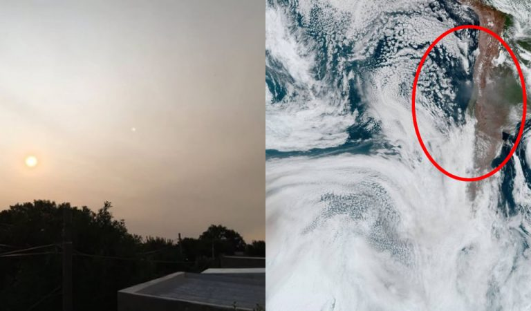 Humo de incendios de Australia llegó a Sudamérica y podría alcanzar el Atlántico