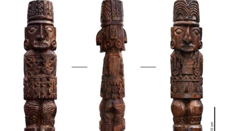 Ídolo de Pachacámac en Perú revela su misterioso pasado