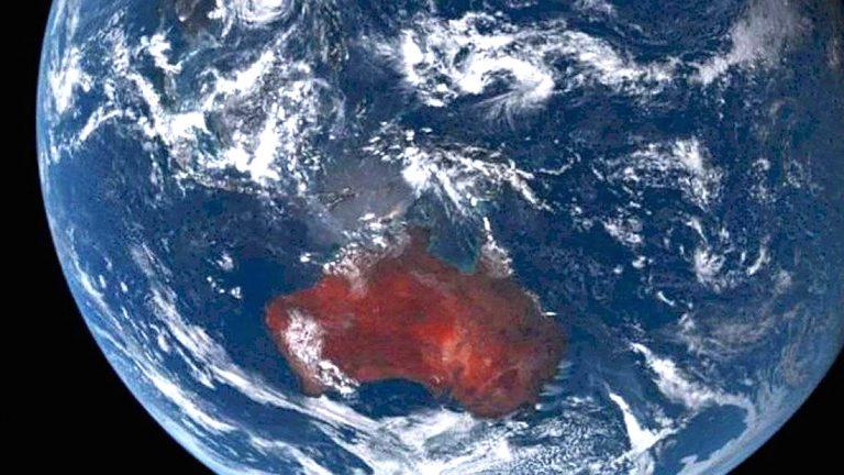 Incendios en Australia pueden ser vistos desde el espacio