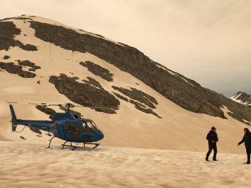 Incendios en Australia han vuelto marrones glaciares distantes
