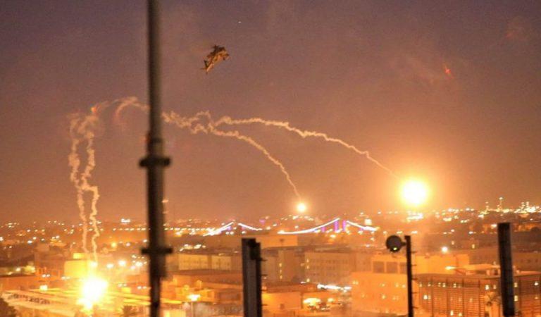 Irán lanza ataque contra base aérea de EE.UU. en Bagdad