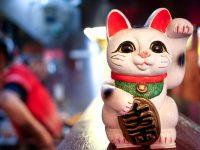Maneki-neko: La leyenda del gato japonés de la buena suerte