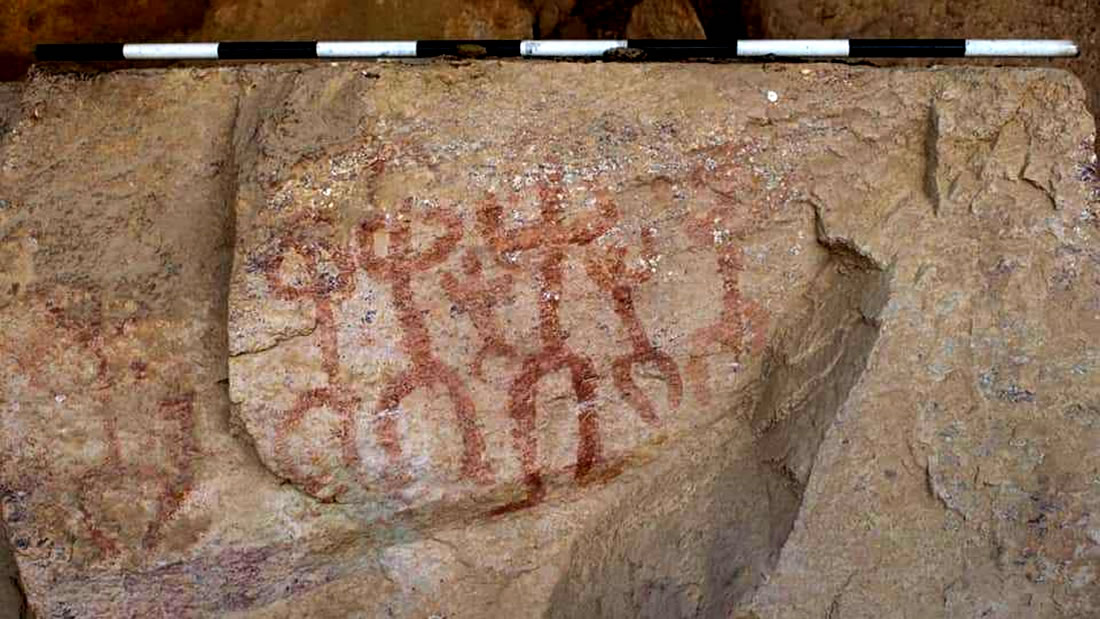 Egiptólogos hallan pinturas rupestres de hace 10.000 años en el Sinaí