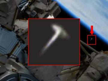 ¿Portal estelar se abrió junto a la Estación Espacial Internacional?