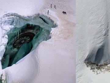 Investigador revela posibles naves estrelladas y bases operativas en la Antártida