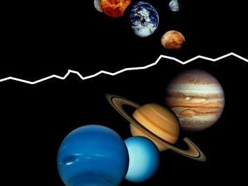 Un fenómeno cósmico dividió en dos el sistema solar