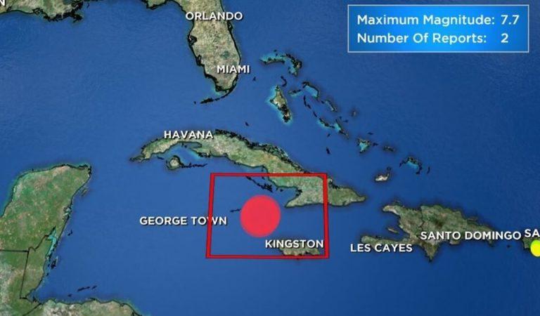 Terremoto de 7.7 golpea el Caribe: tiembla en todo Jamaica y Cuba