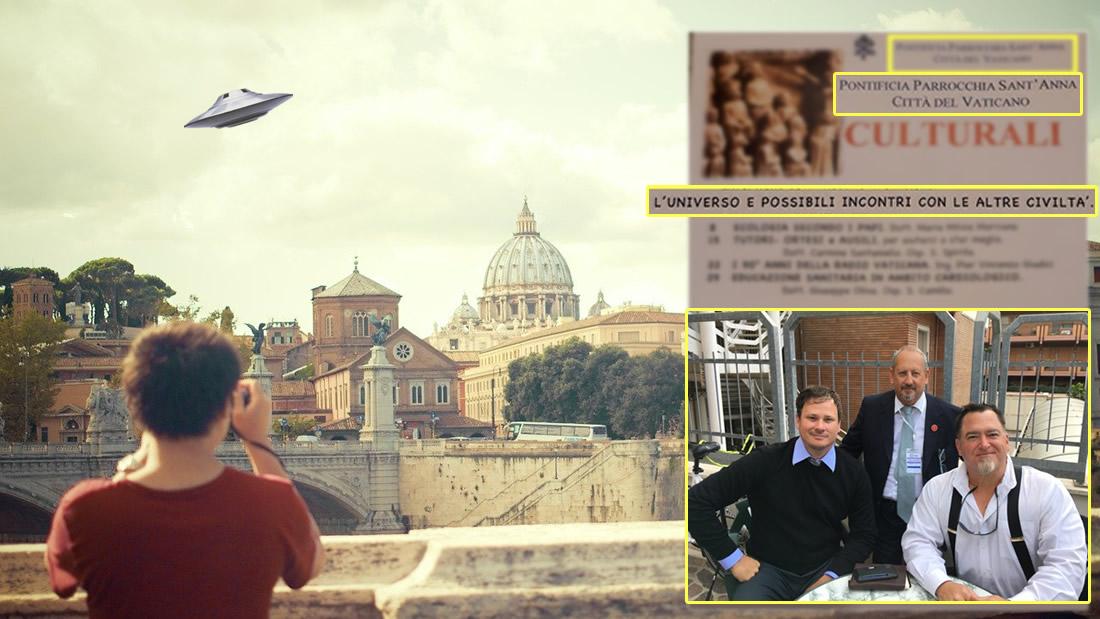 El Vaticano podría estar iniciando una divulgación alienígena
