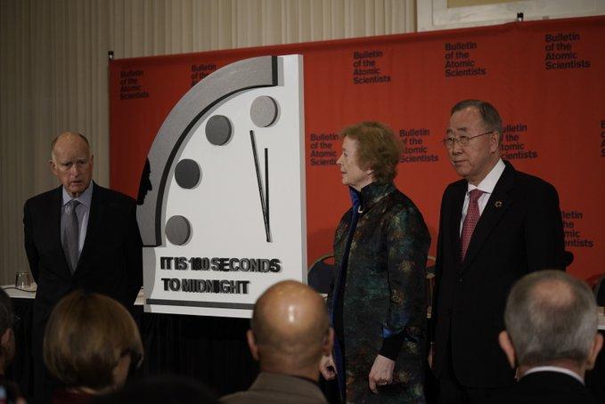 «Reloj del Juicio Final» avanza 20 segundos: humanidad está más cerca de la aniquilación, dicen científicos