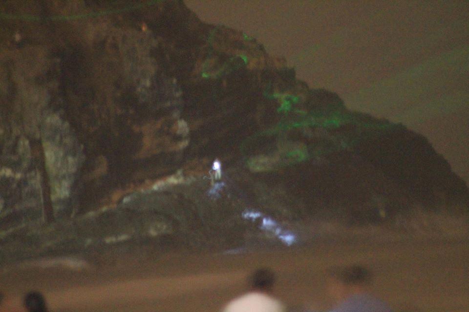 ¿Contacto alienígena en Chilca (Perú)? Objeto lanza intensos destellos frente a 200 personas