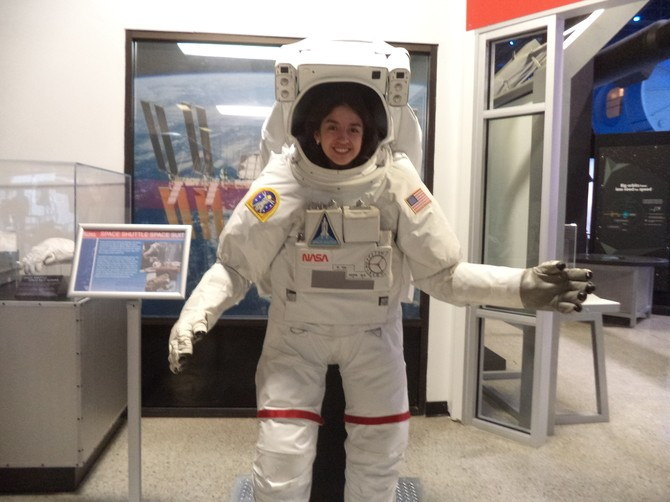Nathalie Vilchis, una joven mexicana en camino a ser astronauta