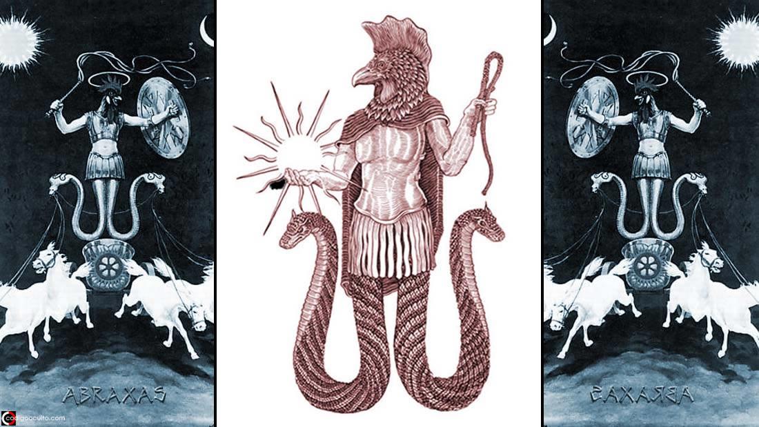 Abraxas: insólito y oscuro dios gnóstico, conocido como el «Gran Arconte»