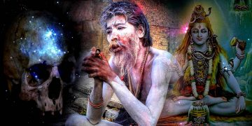 Una secta de caníbales reales viviendo en la India, los Aghori Sadhus