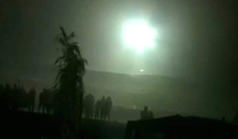 ¿Contacto alienígena en Chilca (Perú)? «Objeto» lanza intensos destellos frente a 200 personas