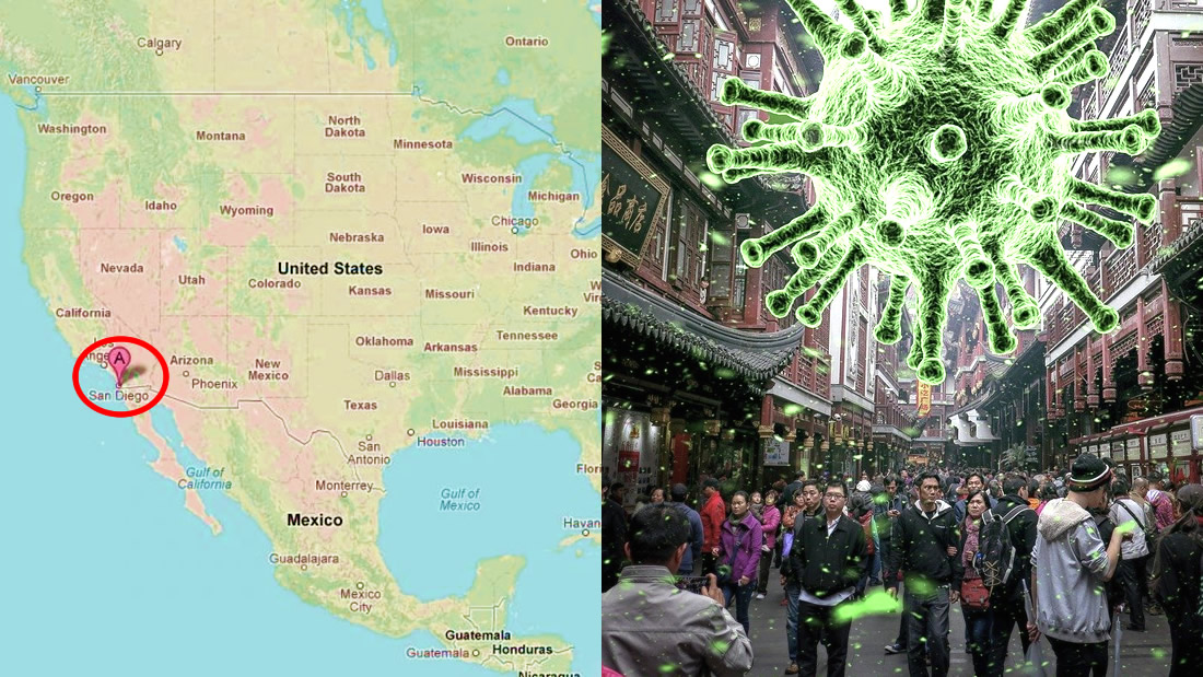 Coronavirus: confirman primer caso en frontera de México con EE.UU.