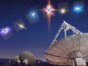 Detectan señal proveniente de otra galaxia con un patrón «inteligente»