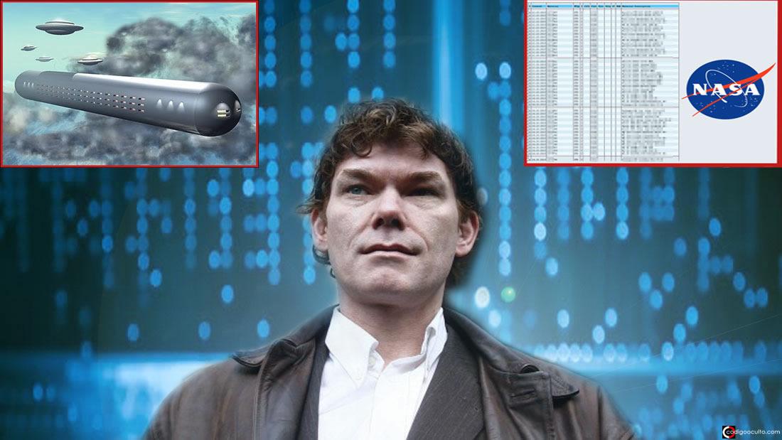 Hacker descubrió todos los «secretos OVNI» de la NASA y la élite (Vídeo)