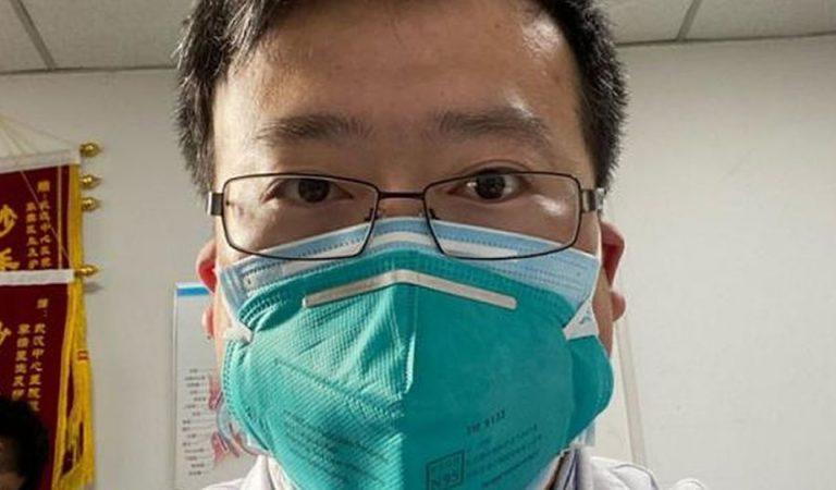 Muere el médico chino que advirtió aparición del coronavirus y que fue silenciado