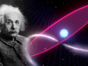Observan una distorsión espacio-tiempo en el espacio en un sistema binario