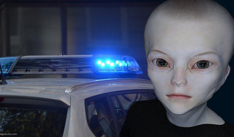 El extraño caso de dos policías interrogados por un «alienígena»