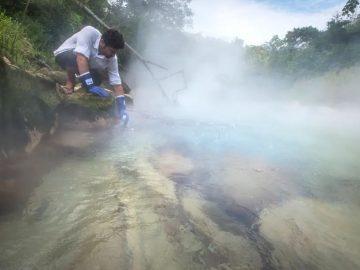 Un río hirviente existe en el Amazonas y alcanza 100 grados centígrados
