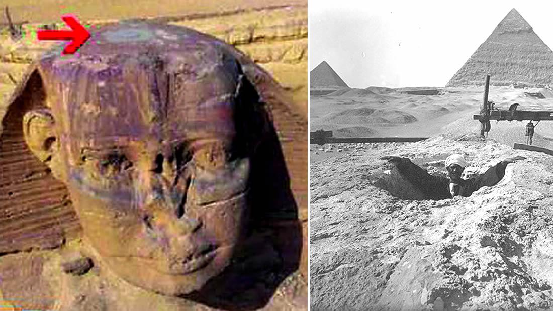 Secretos de la Esfinge son revelados: develando el misterio